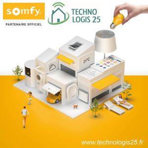 Vidéo surveillance - Tech Logis 25 partenaire Somfy